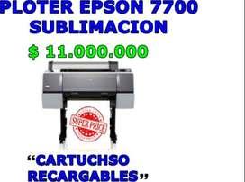 PLOTER EPSON 7700 SUBLIMACION