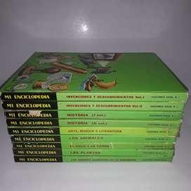 Mi enciclopedia, infantil juvenil, 9 tomos libro