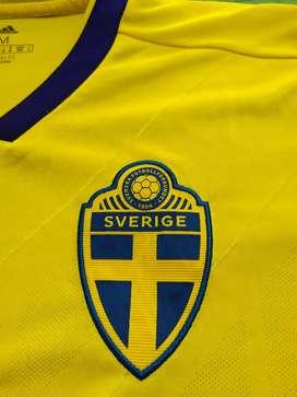 Camiseta Suecia original
