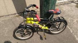 Bicicleta Niño Cómo Nueva Bien Cuidada