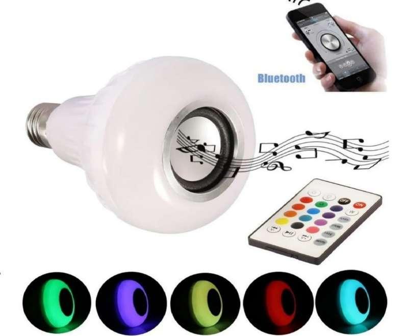 Bombillo LED Parlante Bluetooth 0