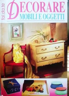 Decoración de muebles con Decoupage