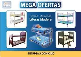 LITERAS ((*PROMOCIONES*)) LITERAS MADERA * LITERAS METÁLICA // **CAMAS LITERAS DE TODA MEDIDA **MAS OBSEQUIOS ENTREGA**