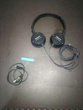 Audífonos Sony estereo originales con asepsorio Bluetooth optimo