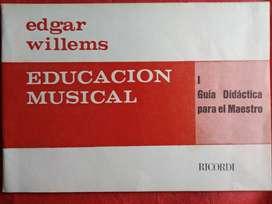 EDUCACION MUSICAL   EDGAR WILLEMS