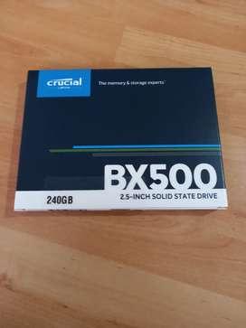 Disco solido 240GB crucial BX500  2.5