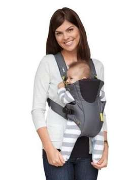 Mochila Porta Bebe Infantino  Breathe Vented Gris