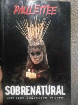 SOBRENATURAL LIBRO ORIGINAL DE PAULETTE