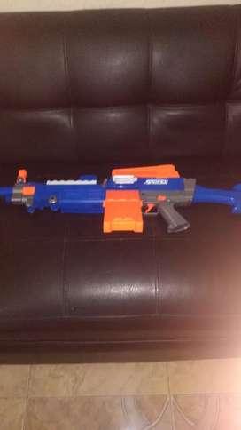 Pistola lanza dardos sniper