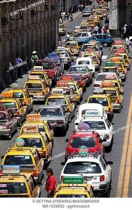 Busco Chofer Conductor para Taxi