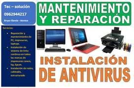 servicio tecnico para impresoras y computadoras