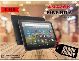 TABLET AMAZON FIRE HD 8 32 GB NUEVA