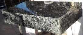 Mesada Negro Boreal 0.86x0.50x0.15para Vanitory