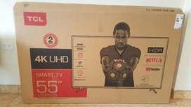 Smart Tv Tcl 4k 55 Pulgadas Nuevo