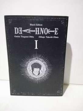 Manga Death Note Black Edition Vol. 1 - Español - Tsugumi Ohba Takeshi Obata