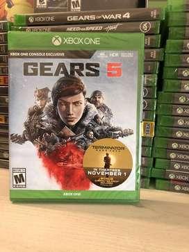 Gears Of War 5 Xbox One Nuevo Físico Original