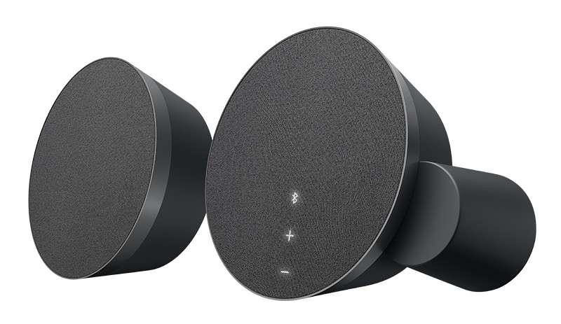 Parlantes altavoces Bluetooth premium Logitech MX Sound 0