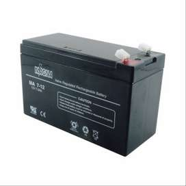 Magna Batería Sellada Agm Libre Mantenimiento 12 Volts 7 Amperios