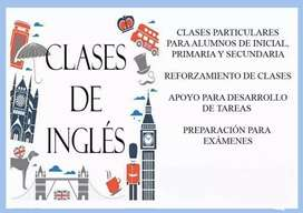 Clases y tutoris de ingles colegio y universidad