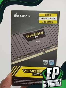 Memoria Ram  Corsair Vengeance Lpx  16gb 2x8gb DDR4 3200 MHZ