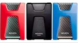 disco duro externo adata hd650 antigolpes  2tb