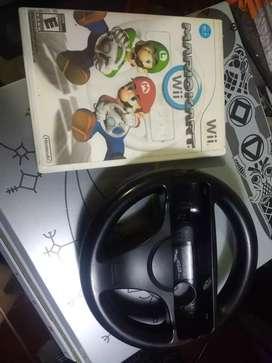 Mario kart y timón para nintendo wii
