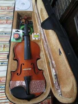 Violin 4/4 con accesorios