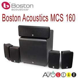 BOCINAS, PARLANTES PARA TEATRO EN CASA BOSTON ACOUSTICS MCS 160