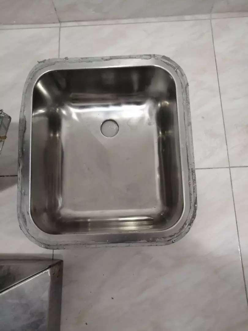 Lavaplatos en acero 0