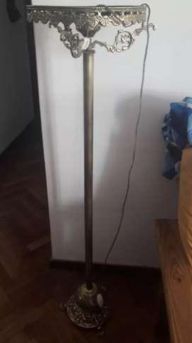 Vendo lampara de bronce