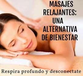 masajes a domicilio descontracturantes y relajantes tambien deportivos!!