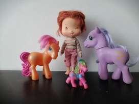 Ponys  y fresita Rosita