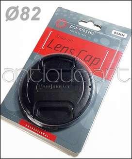 A64 Tapa Frontal Lente Ø 82mm Nikon Canon Sony Pentax