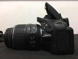Nikon d 5200  18- 55mm