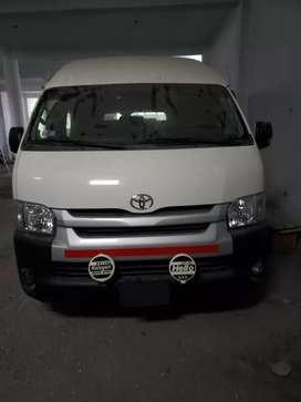 Toyota hiace full 2018