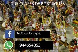 CUSCO-CLASES DE PORTUGUÉS - TRABAJOS- TRADUCCIONES- CUSCO