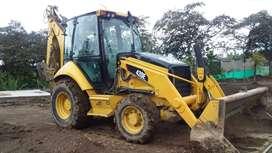 Retroexcavadora Caterpillar 420E año 2010