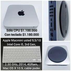 Vendo Minimac core i5 2014, usado 9/10