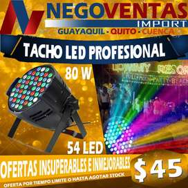 TACHO LED LUCES MULTICOLOR