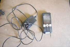 2 telefonos soni erikson con gargador