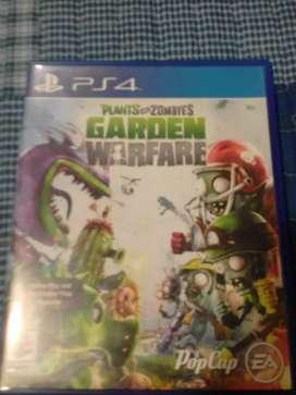 Se vende GARDEN WARFARE PS4