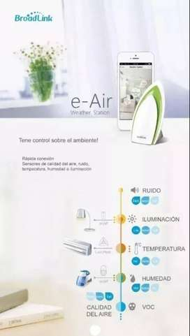 Broadlink Air 1 A1 Smart Sensor Aire Temperatura Ruido Luz Rm