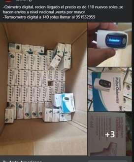 Oximetro y Termometro digital
