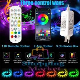 Tira de Luces con APP Bluetooth RGB