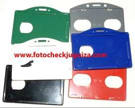 Portafotocheck acrilico y plastico