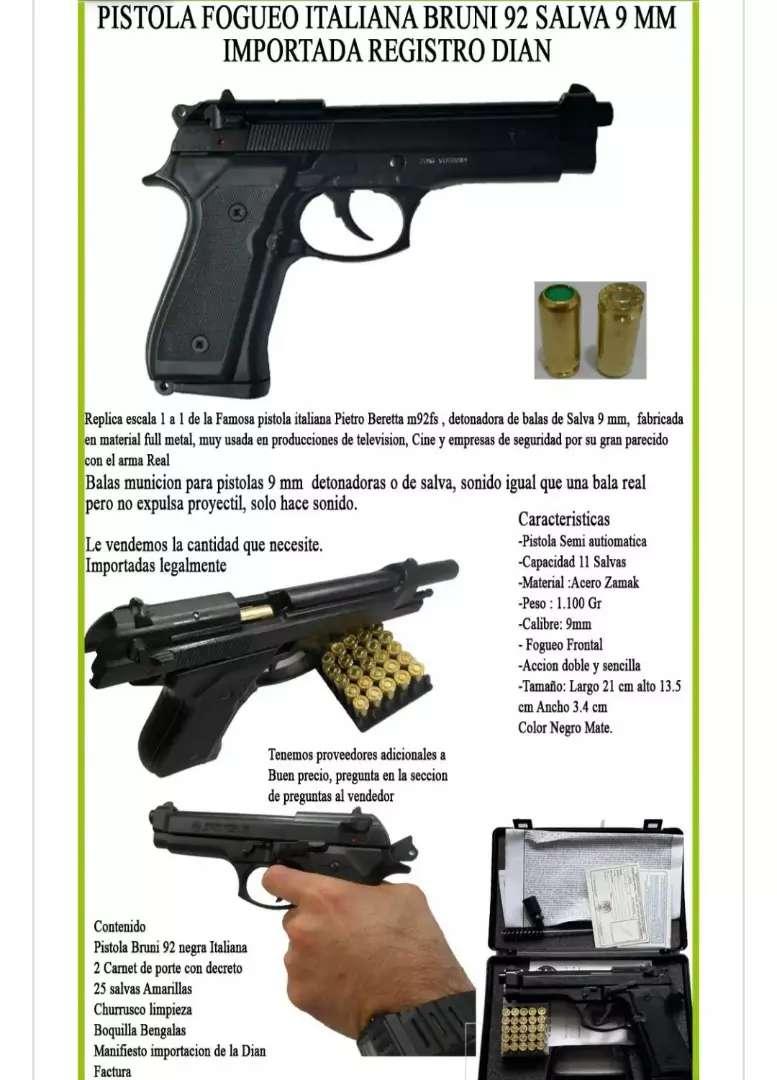 Pistola vendó excelente estado. 0