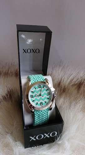 Reloj Pulsera Xoxo Verde Agua