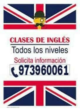 Inglés Clases a Domicilio