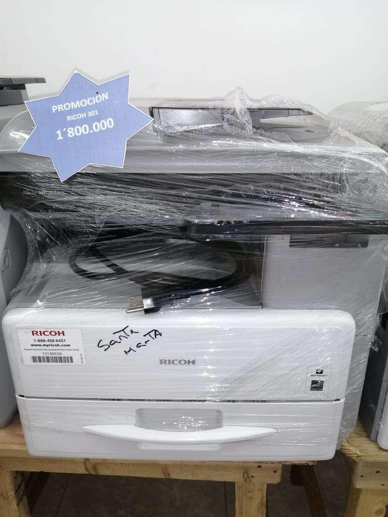 fotocopiadora ricoh 301 0