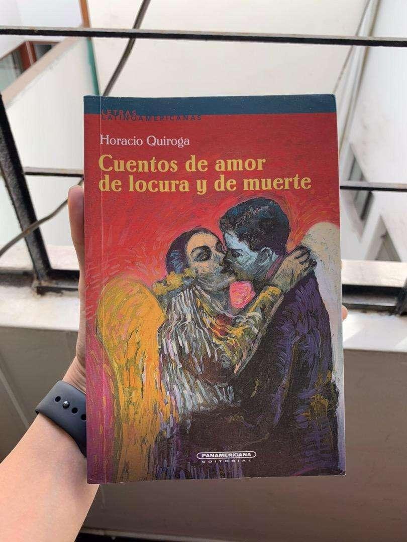 """VENDO LIBRO """" Cuentos de amor de locura y de muerte"""" 0"""